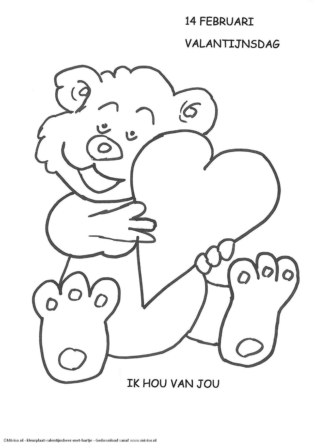 Fris Kleurplaten Van Hartjes Voor Mama Klupaats Website