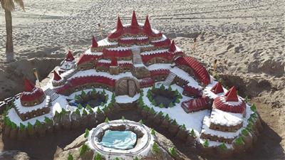 Kerst aan het strand van Torremolinos