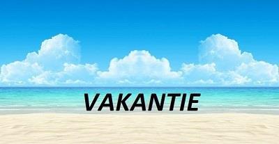 Vakantie - lekker even weg